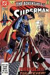 Cover for Adventures of Superman (DC, 1987 series) #479 [Direct]