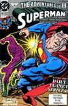 Cover for Adventures of Superman (DC, 1987 series) #482 [Direct]