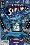 Cover for Adventures of Superman (DC, 1987 series) #484 [Direct]