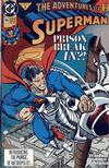 Cover for Adventures of Superman (DC, 1987 series) #486 [Direct]