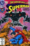 Cover for Adventures of Superman (DC, 1987 series) #491 [Direct]