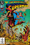 Cover for Adventures of Superman (DC, 1987 series) #493 [Direct]