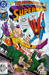 Cover for Adventures of Superman (DC, 1987 series) #496 [Direct]