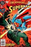 Cover for Adventures of Superman (DC, 1987 series) #497 [Newsstand]