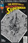 Cover for Adventures of Superman (DC, 1987 series) #498 [Direct]