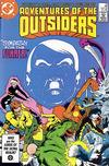 Cover for Adventures of the Outsiders (DC, 1986 series) #35 [Direct]