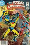 Cover for All-Star Squadron (DC, 1981 series) #21 [Newsstand]