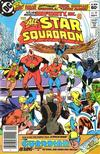 Cover for All-Star Squadron (DC, 1981 series) #25 [Newsstand]