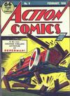 Cover for Action Comics (DC, 1938 series) #9