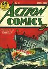 Cover for Action Comics (DC, 1938 series) #11