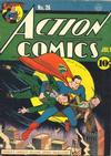 Cover for Action Comics (DC, 1938 series) #26