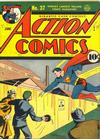 Cover for Action Comics (DC, 1938 series) #37