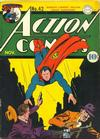 Cover for Action Comics (DC, 1938 series) #42