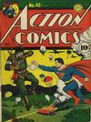 Cover for Action Comics (DC, 1938 series) #43