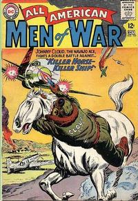 Cover Thumbnail for All-American Men of War (DC, 1953 series) #105