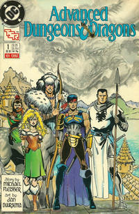 Cover Thumbnail for Advanced Dungeons & Dragons Comic Book (DC, 1988 series) #1