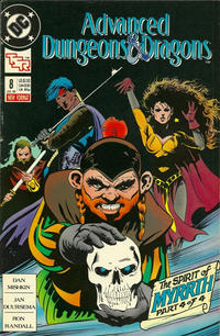 Cover Thumbnail for Advanced Dungeons & Dragons Comic Book (DC, 1988 series) #8 [Direct]