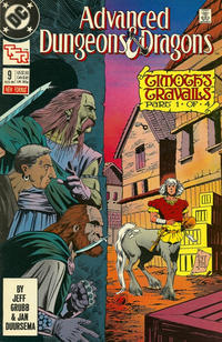 Cover Thumbnail for Advanced Dungeons & Dragons Comic Book (DC, 1988 series) #9 [Direct]