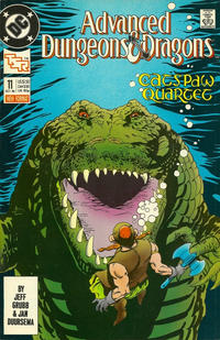 Cover Thumbnail for Advanced Dungeons & Dragons Comic Book (DC, 1988 series) #11 [Direct]