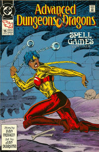Cover for Advanced Dungeons & Dragons Comic Book (DC, 1988 series) #15 [Direct]