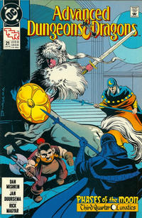 Cover Thumbnail for Advanced Dungeons & Dragons Comic Book (DC, 1988 series) #21 [Direct]