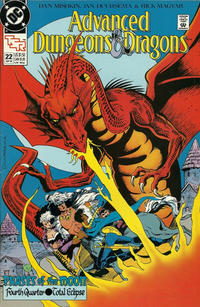 Cover Thumbnail for Advanced Dungeons & Dragons Comic Book (DC, 1988 series) #22