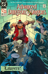 Cover Thumbnail for Advanced Dungeons & Dragons Comic Book (DC, 1988 series) #23