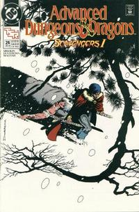 Cover Thumbnail for Advanced Dungeons & Dragons Comic Book (DC, 1988 series) #24 [Direct]
