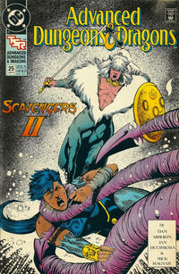 Cover Thumbnail for Advanced Dungeons & Dragons Comic Book (DC, 1988 series) #25