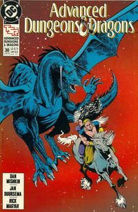 Cover Thumbnail for Advanced Dungeons & Dragons Comic Book (DC, 1988 series) #30