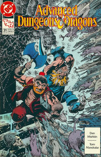 Cover Thumbnail for Advanced Dungeons & Dragons Comic Book (DC, 1988 series) #31