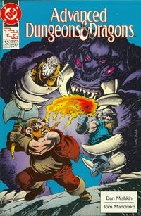 Cover Thumbnail for Advanced Dungeons & Dragons Comic Book (DC, 1988 series) #32