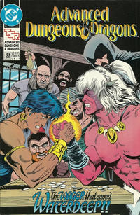 Cover Thumbnail for Advanced Dungeons & Dragons Comic Book (DC, 1988 series) #33