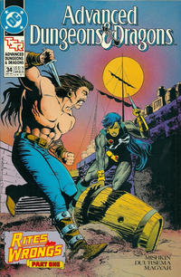 Cover Thumbnail for Advanced Dungeons & Dragons Comic Book (DC, 1988 series) #34