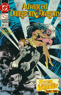 Cover Thumbnail for Advanced Dungeons & Dragons Comic Book (DC, 1988 series) #35