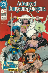 Cover Thumbnail for Advanced Dungeons & Dragons Comic Book (DC, 1988 series) #36