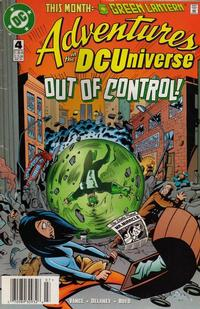 Cover Thumbnail for Adventures in the DC Universe (DC, 1997 series) #4 [Newsstand]
