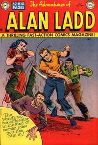Cover Thumbnail for The Adventures of Alan Ladd (DC, 1949 series) #7