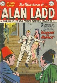 Cover Thumbnail for The Adventures of Alan Ladd (DC, 1949 series) #9
