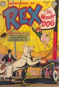 Cover Thumbnail for The Adventures of Rex the Wonder Dog (DC, 1952 series) #3