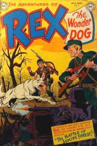 Cover Thumbnail for The Adventures of Rex the Wonder Dog (DC, 1952 series) #4