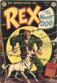 Cover Thumbnail for The Adventures of Rex the Wonder Dog (DC, 1952 series) #5