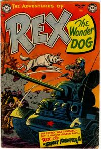 Cover Thumbnail for The Adventures of Rex the Wonder Dog (DC, 1952 series) #6
