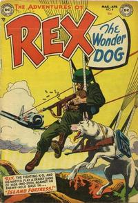 Cover Thumbnail for The Adventures of Rex the Wonder Dog (DC, 1952 series) #8