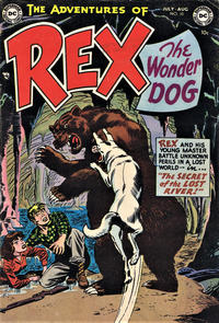 Cover Thumbnail for The Adventures of Rex the Wonder Dog (DC, 1952 series) #10