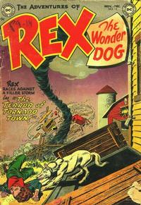 Cover Thumbnail for The Adventures of Rex the Wonder Dog (DC, 1952 series) #12