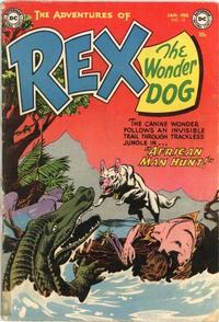 Cover Thumbnail for The Adventures of Rex the Wonder Dog (DC, 1952 series) #13