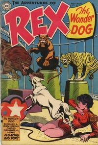 Cover Thumbnail for The Adventures of Rex the Wonder Dog (DC, 1952 series) #16