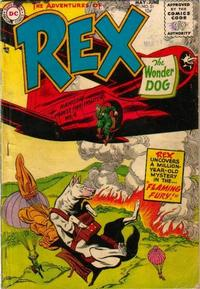 Cover Thumbnail for The Adventures of Rex the Wonder Dog (DC, 1952 series) #21