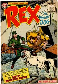Cover Thumbnail for The Adventures of Rex the Wonder Dog (DC, 1952 series) #22
